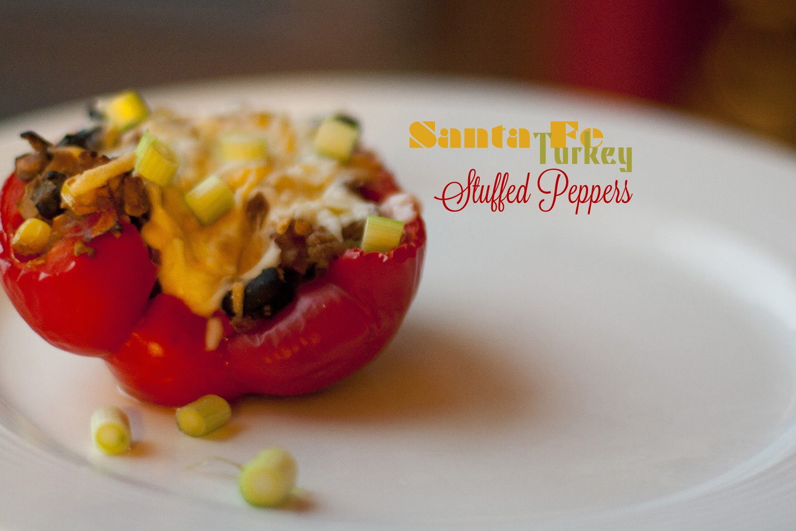 ... Life: IN OUR KITCHEN | Santa Fe Turkey Stuffed Peppers by Skinnytaste
