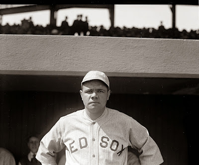 Babe Ruth 1919 Boston Red Sox