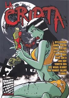 La Cripta 2, cómic, terror