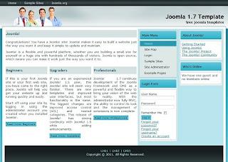premium joomla template health portal