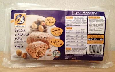 ds gluten free ciabattas pack