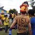 Konvoi penyambutan juara Divisi Utama Barito Putra