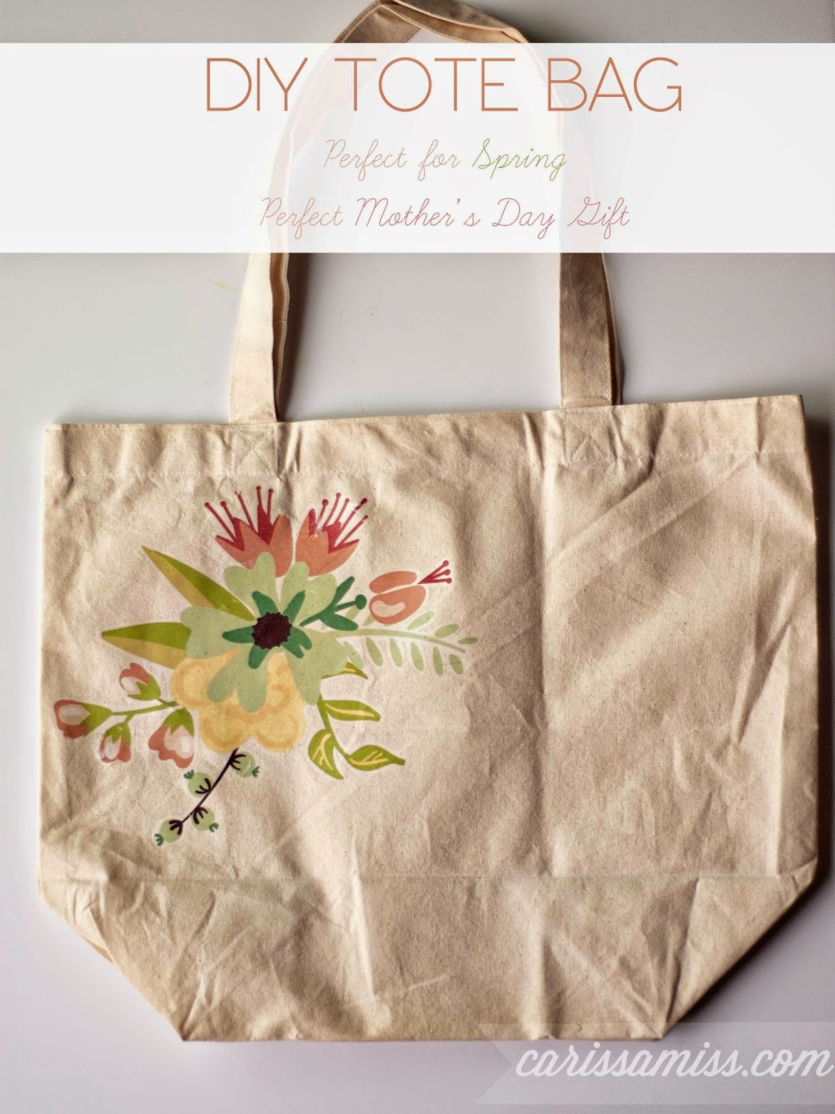 Carissa Miss: DIY Tote Bag