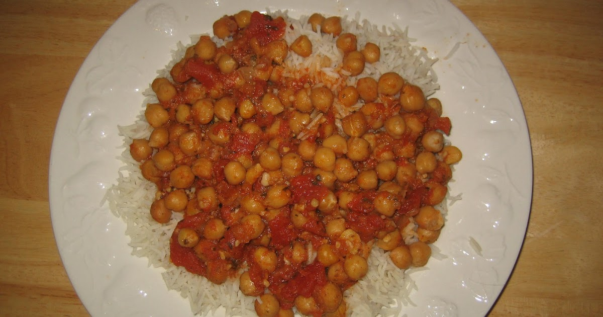 how to cook chickpeas in sauce