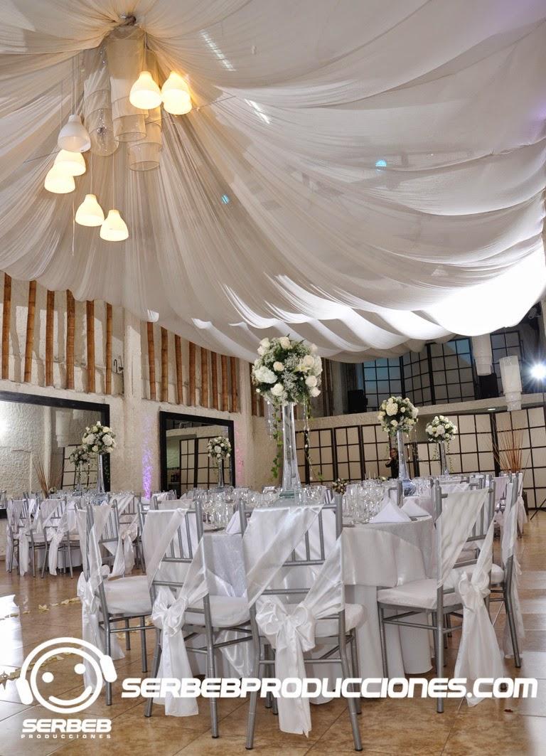 Organizaci n de bodas decoraci n boda tiffany en blanco - Decoracion salones colores ...