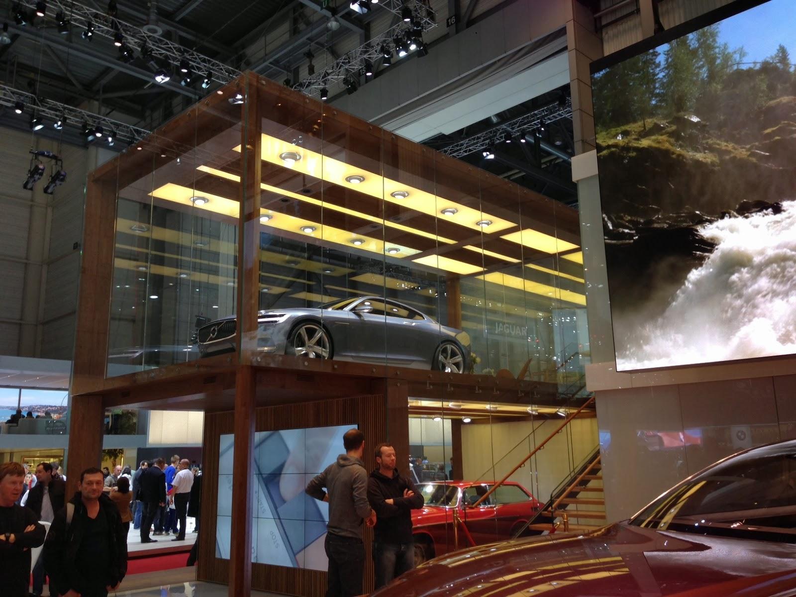 Volvo at Geneva Motor Show