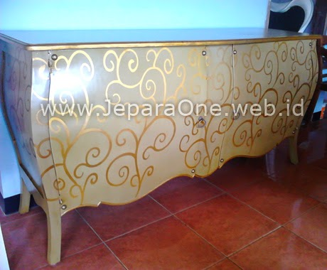 Gold Relung Cabin - Filling Cabinet JeparaOne