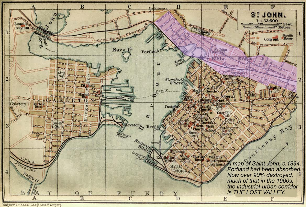 map of st john nb 1894