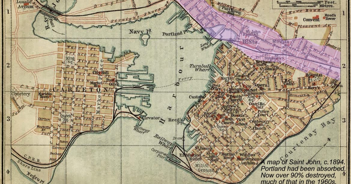 Evidence of Saint Johns LOST VALLEY the 1894 Wagner and Debes Map