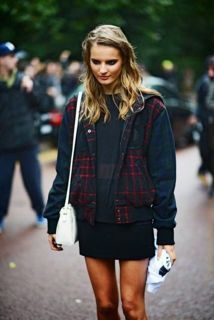 Street Chic London Fashion Week Spring 2014 Collections - London Fashion Week Street Style Photos