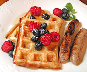 Best Ever Buttermilk Waffles