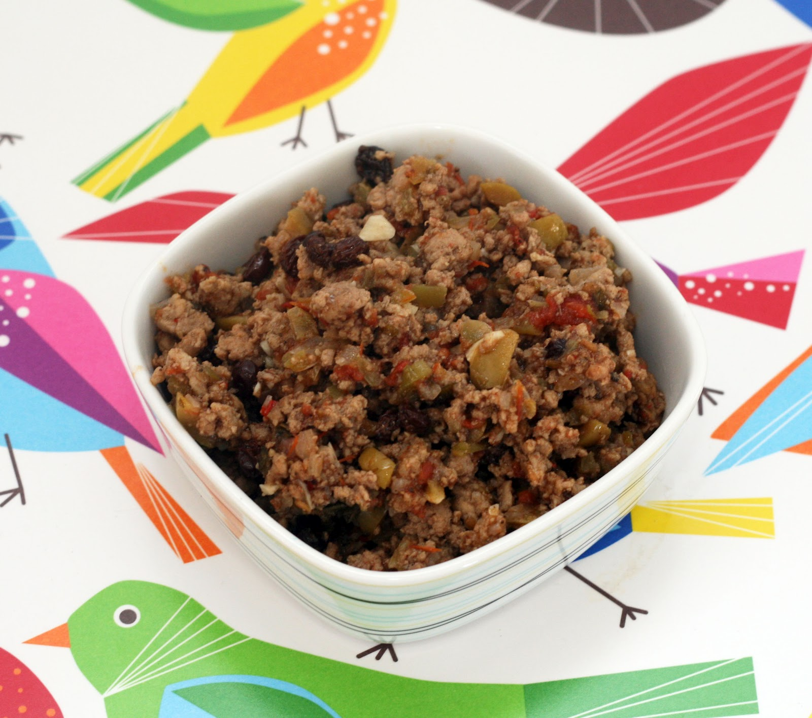 ... & Lime // recipes by Rachel Rappaport: Cuban-style Turkey Picadillo