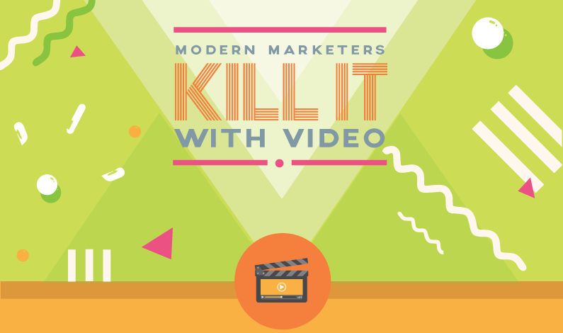 The History of Video #Marketing - #infographic
