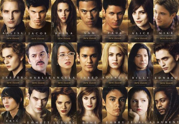 Twilight Cast Members Pictures And Names With Twilight Cast Names
