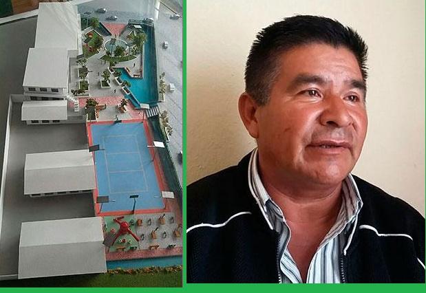 El pueblo quiere seguridad y salud, la presidenta parque recreativo