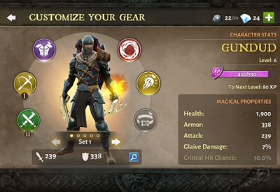 Dungeon Hunter 5 v1.2.0n Mod Apk Terbaru 2015