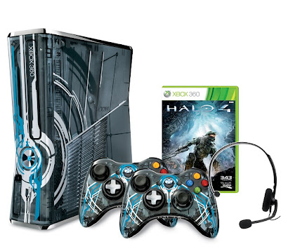 Xbox 360 Limited Edition Halo 4 Console Announced!