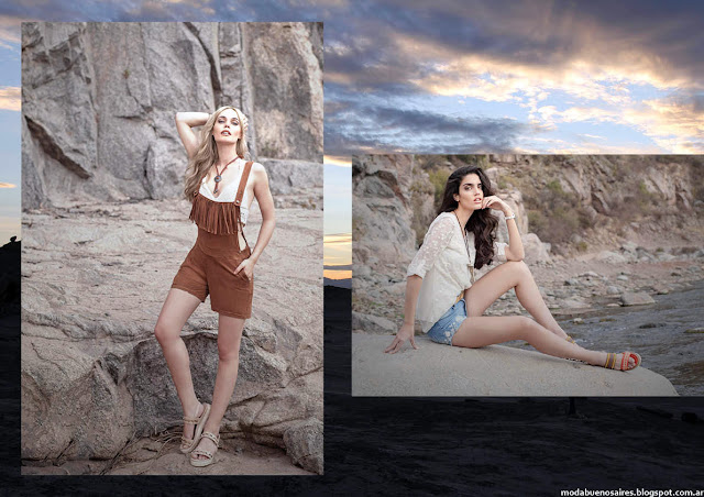 Enteritos de verano con flecos tendencia de moda verano 2016 mujer Sweet.