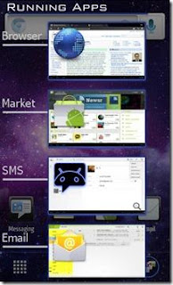 Running Apps Android 4.0 Ice Cream Sandwich
