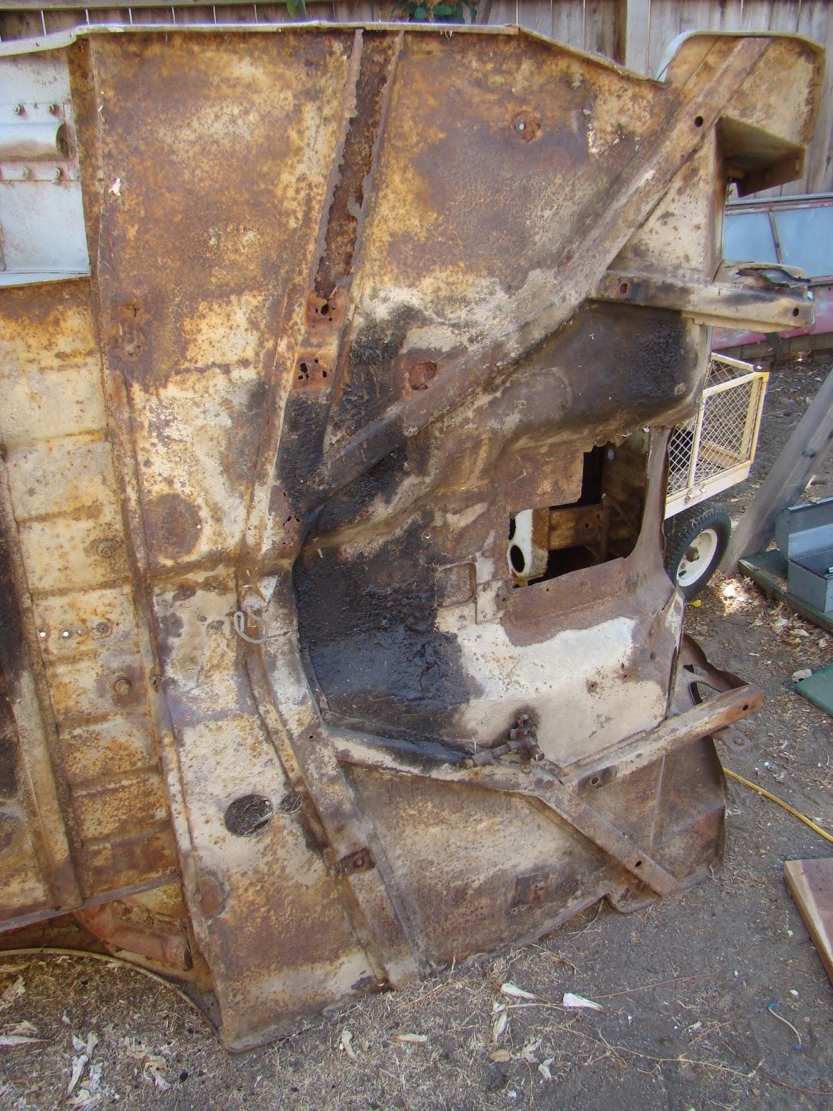 My Jeep CJ-X Project: Tub restoration day 1 - hat channel assessment ...