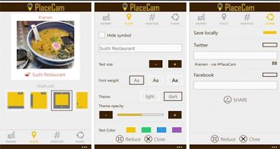 placecam windows phone
