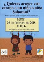 ¿Quieres acoger este verano a un niño o niña Saharaui?