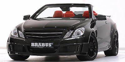 Modification of Mercedes-Benz E-Class by Brabus Front View