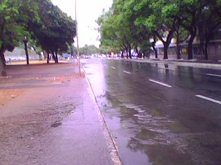 Chove em Brasília - Foto Asa Sul