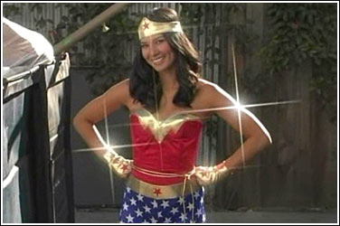 Olivia Munn as Wonder Woman