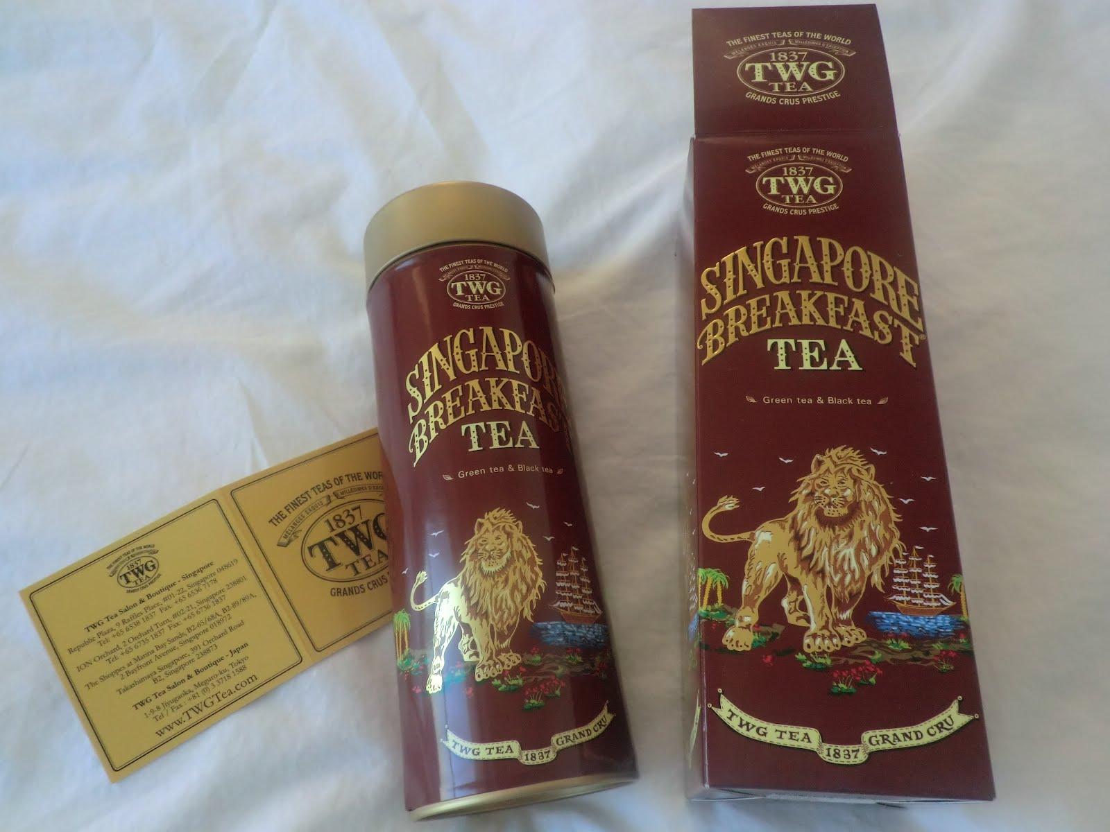 From Japan SINGAPORE BREAKFAST TEA From TWG Tea