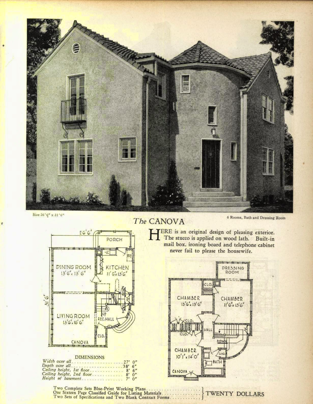 And yes, even more art deco and moderne house plans! | Art Deco ...