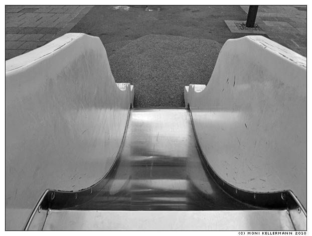 slide, downtown, Gelsenkirchen, Germany