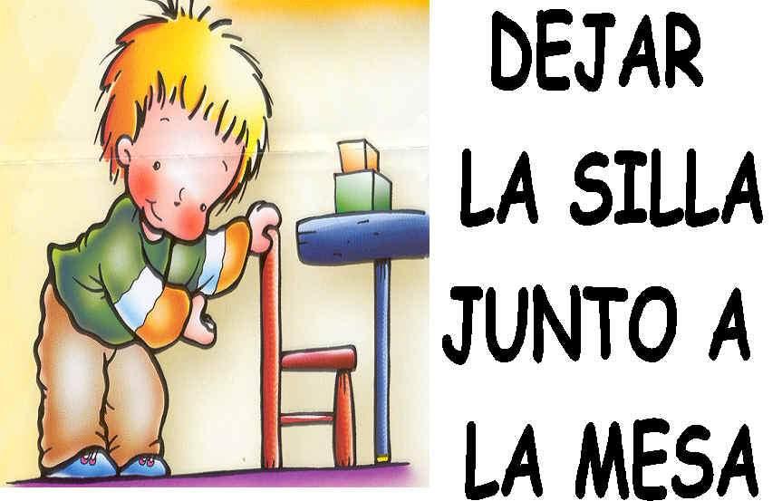 LLUVIA DE IDEAS: LAS NORMAS EN EDUCACIÓN INFANTIL