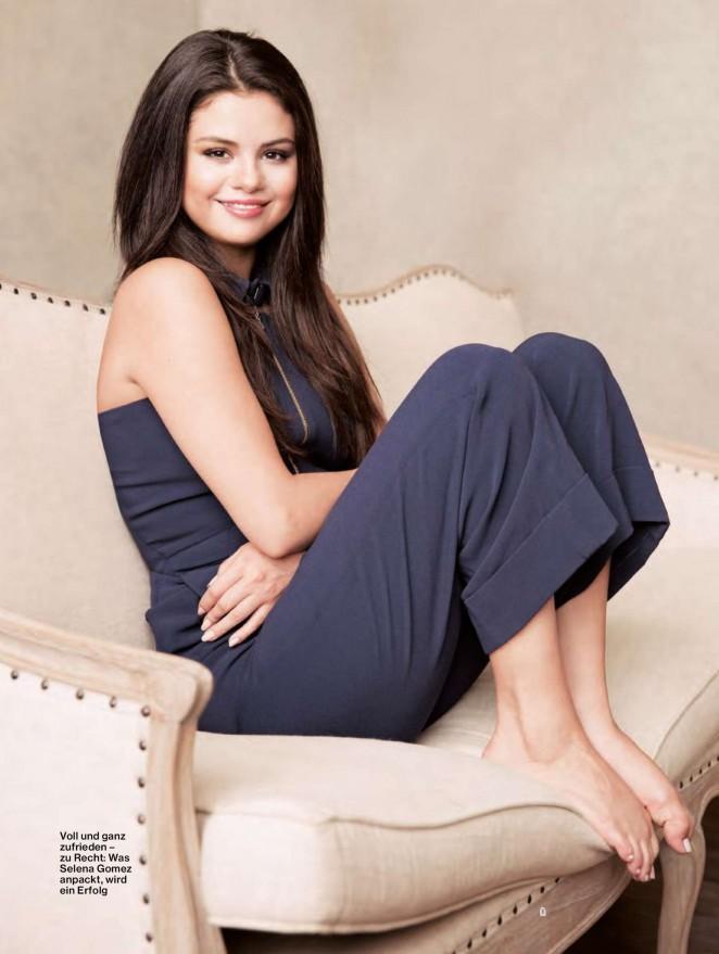 Selena Gomez for Jolie Magazine October 2015