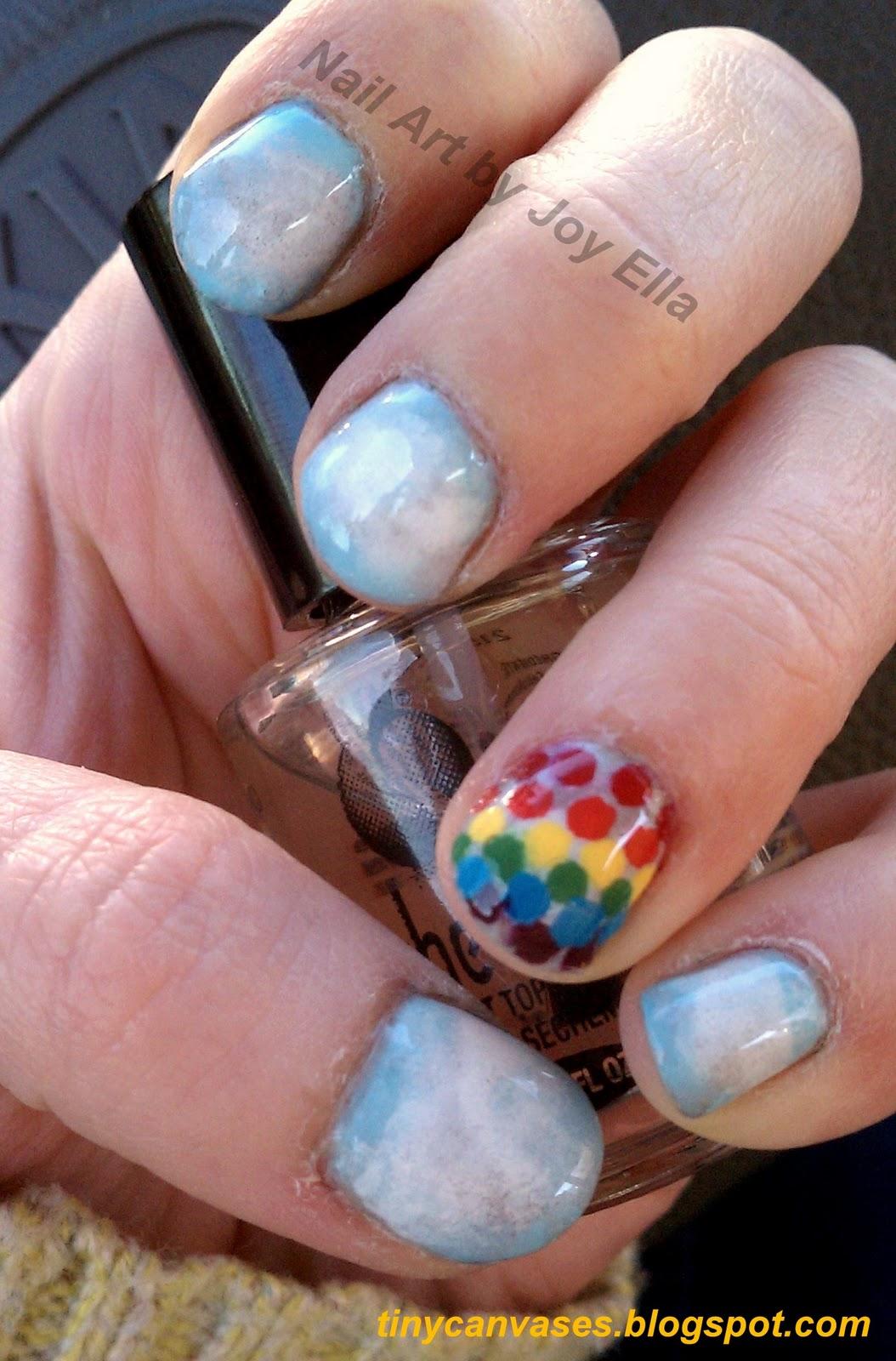 Tiny Canvases: Nail Art by Joy Ella: January 2012