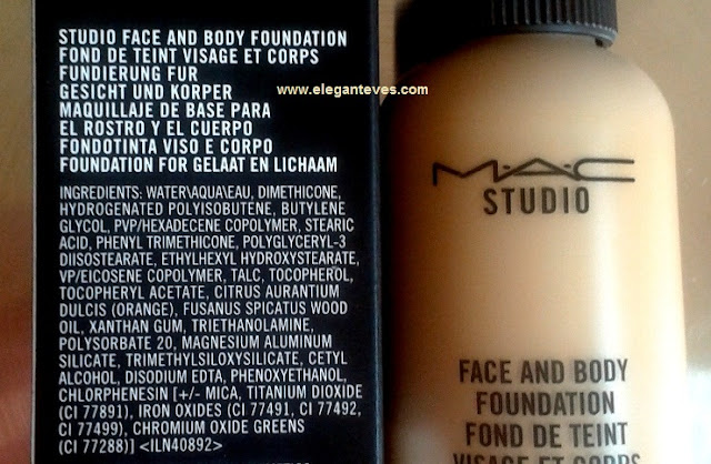 MAC Studio Face and Body Foundation in C3