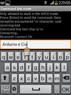 enviando string texto Arduino