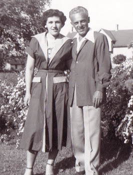 Mom and Dad...shortly after they married