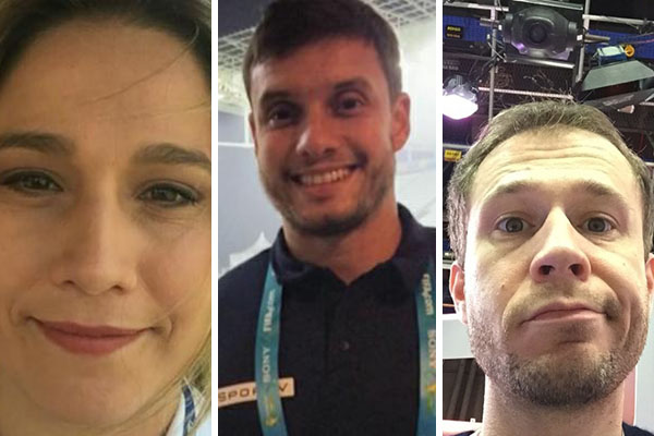 Após morte de jornalista, Fernanda Gentil e Tiago Leifert publicam homenagens na internet