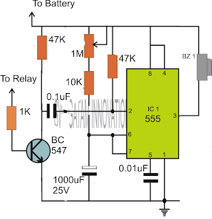 adjustable timer circuits using ic 555 electronic circuit projects