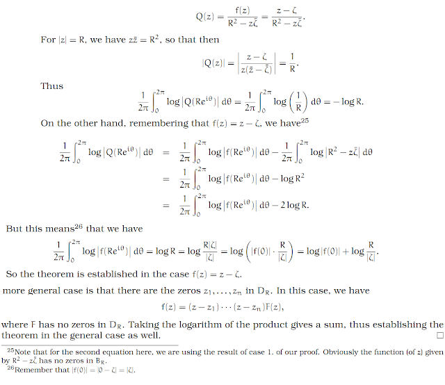 Complex Analysis: #30 Jensen`s Formula equation pic 6