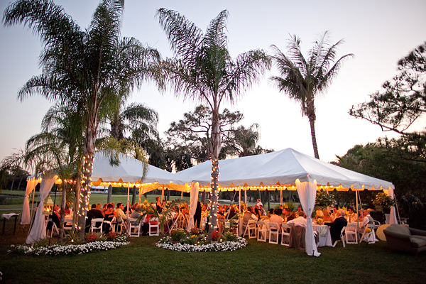 Tent Wedding In Backyard : TentLogix Weddings & Inspirations Tequesta wedding with tents by