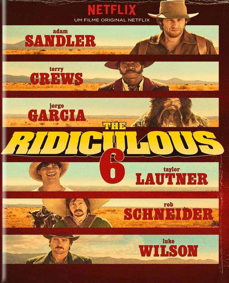 The Ridiculous 6 Torrent - Blu-ray Rip 4K Dublado (2015)