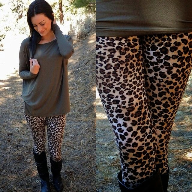 Top 5 Most Stylish Leopard Print Leggings