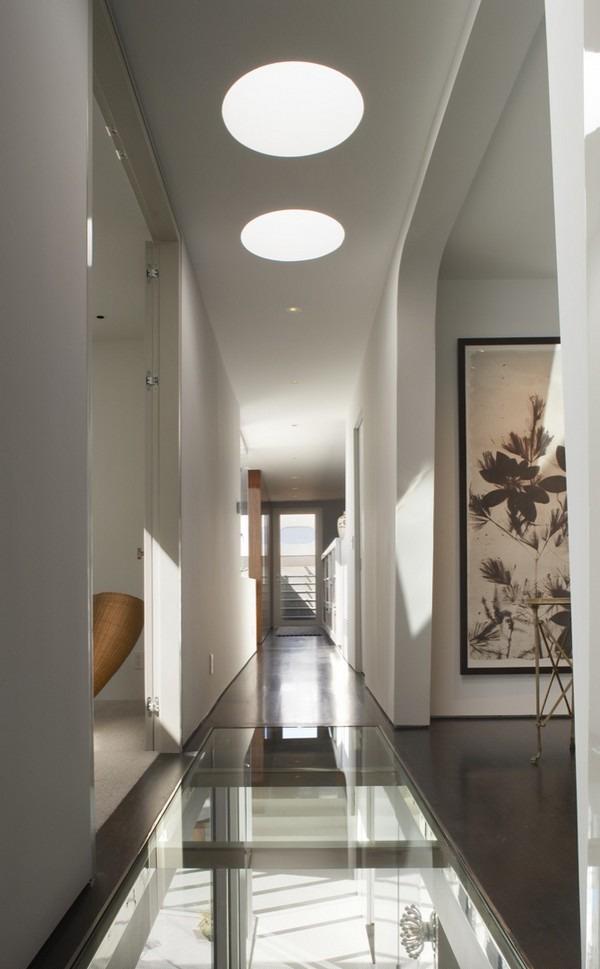 Casas minimalistas y modernas pasillos modernos en casas - Como decorar un pasillo pequeno ...