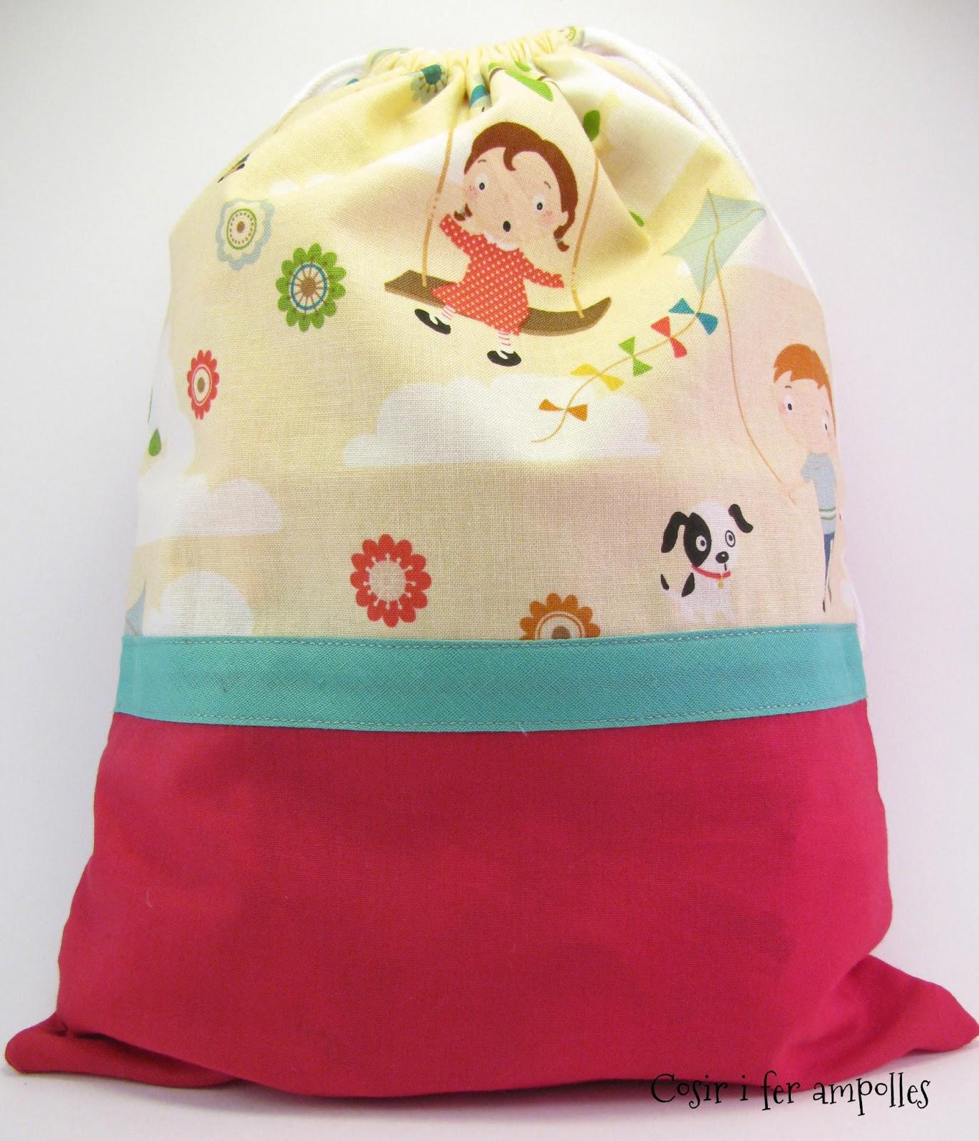 Cosir i fer ampolles bolsas de tela para llevar lo que - Bolsas de tela para ninos ...