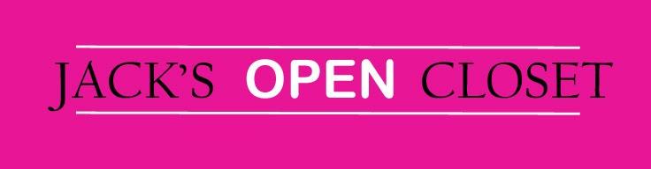 Jack's open closet