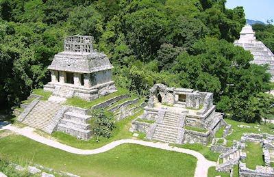 Ruinas arqueológicas de los Mayas en Palenque, Chiapas, México. - Mayan ruins
