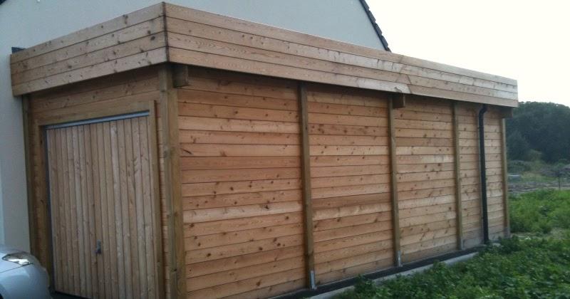 terrasses et piscines en bois les diff rents types de construction d 39 un garage en bois. Black Bedroom Furniture Sets. Home Design Ideas