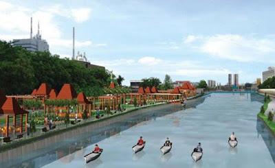 Proyek Wisata Sungai Kota Surabaya Akan Di Lanjutkan